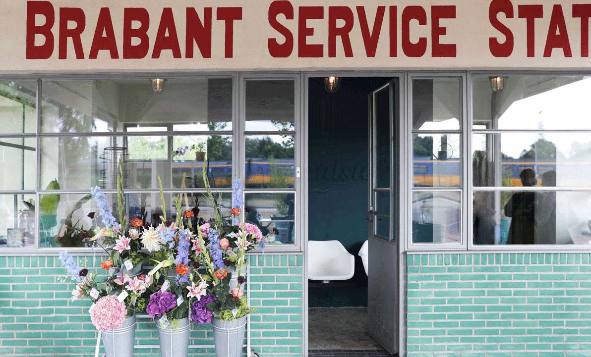 Station Brandstof